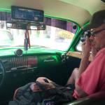 Cuba - Carl in car