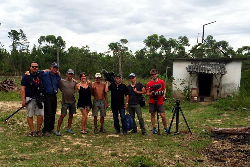 Cuba - crew shot (carbon)